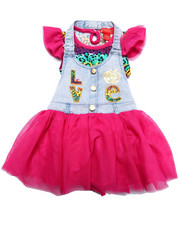 Girls - 2 PC SKIRTALL SET (2T-4T)