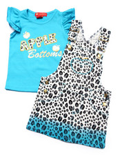 Apple Bottoms - 2 PC SKIRTALL SET (2T-4T)