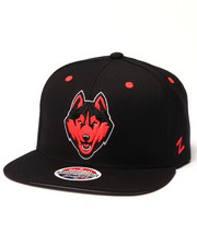 NBA, MLB, NFL Gear - UConn Huskies Infrared Snapback hat