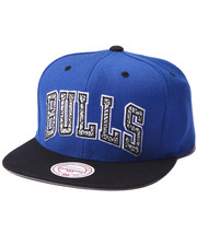 Mitchell & Ness - Chicago Bulls Sport Blue team wordmark snapback hat