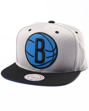 Mitchell & Ness - Brooklyn Nets Refelctive XL Logo Snapback hat