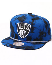 Mitchell & Ness - Brooklyn Nets Blue & Black Denim Snapback hat