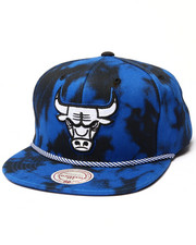 Mitchell & Ness - Chicago Bulls Blue & Black Denim Snapback hat