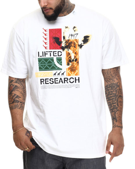 LRG - Men White The Crossover T-Shirt (B & T)