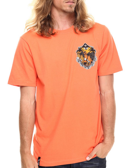 Lrg - Men Orange Work Horse T-Shirt - $16.99