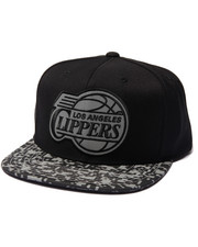 Mitchell & Ness - Los Angeles Clippers Digi Camo Reflective Visor Snapback