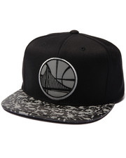 Mitchell & Ness - Golden State Warriors Digi Camo Reflective Visor Snapback Hat
