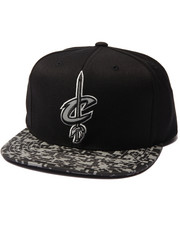 Men - Cleveland Cavaliers Digi Camo Reflective Visor Snapback Hat