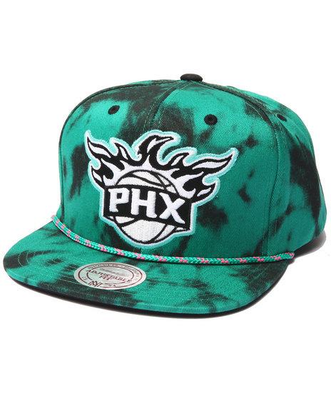 Mitchell & Ness Men Phoenix Suns Greenback Snapback Hat Green