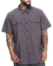 LRG - Future 47 S/S Button-Down (B&T)