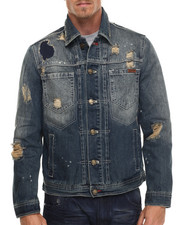 Outerwear - Earthquake Rip & Repair Denim Jacket