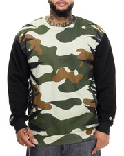 Filthy Dripped - Camo Leaves Sweatshirt (XL)