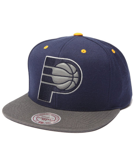 Mitchell & Ness Men Indiana Pacers Nba Current Xl Reflective 2-Tone Navy