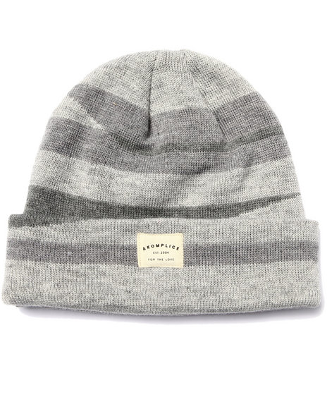 Akomplice Men Shades Of Grey Beanie Grey