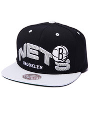 Mitchell & Ness - Brooklyn Nets throwback the wave 2-Tone Snapback Hat
