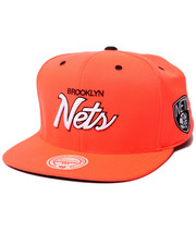 Mitchell & Ness - Brooklyn Nets NBA Infrared snapback hat