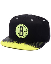 Mitchell & Ness - Brooklyn Nets Infragreen Visor Snapback
