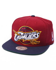 Mitchell & Ness - Cleveland Cavaliers XL Logo 2 Tone Snapback Hat