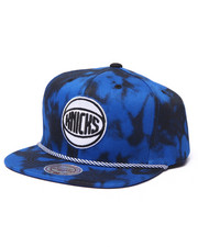 Mitchell & Ness - New York Knicks Blue & Black Denim Snapback hat