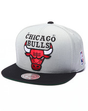 Mitchell & Ness - Chicago Bulls 2-Tone grey Snapback Hat
