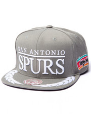 Mitchell & Ness - San Antonio Spurs NBA Laurel Snapback Hat