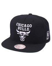 Hats - Chicago Bulls NBA Black & White Edition Snapback Hat