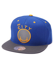 Mitchell & Ness - San Francisco Warriors NBA HWC XL Reflective 2-Tone Snapback