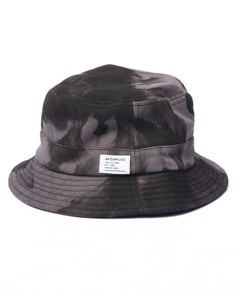Akomplice - Men Black,Grey A.O.C. Bucket Hat