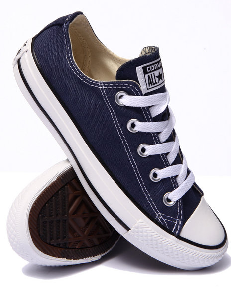 Ur-ID 214914 Converse - Women Navy Chuck Taylor All Star Core Ox Sneakers