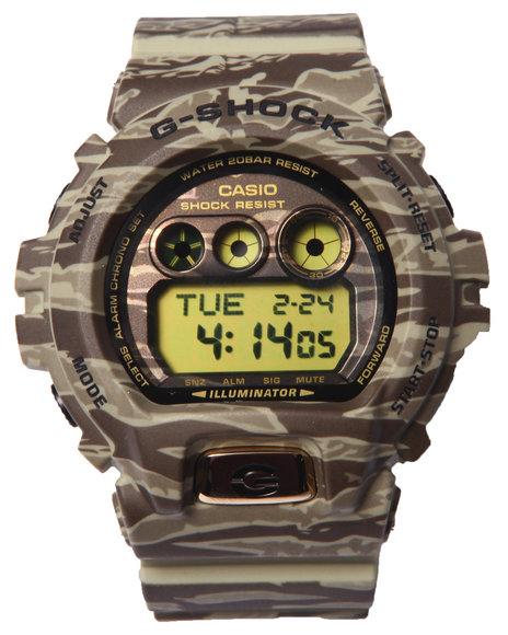 G-Shock By Casio Men Gdx-6900 Camouflage Watch Camo