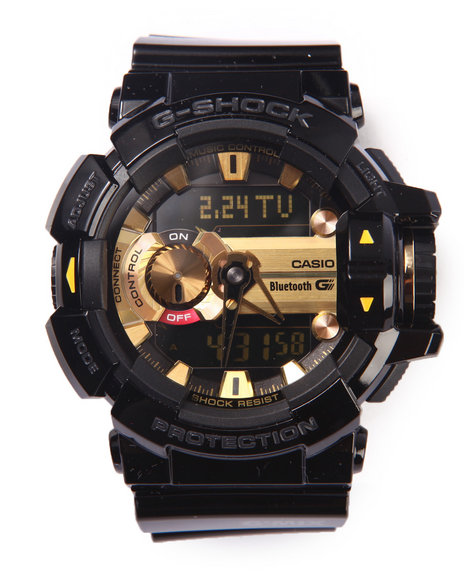 G-Shock By Casio Men Gba400 G'mix Rotary Switch Ble Watch Black - $193.99