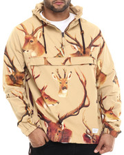 Outerwear - Deer Head Anorak Jacket