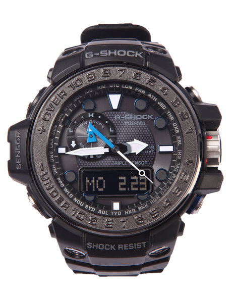 G-Shock By Casio Men Gwn-1000 Gulfmaster Watch Black