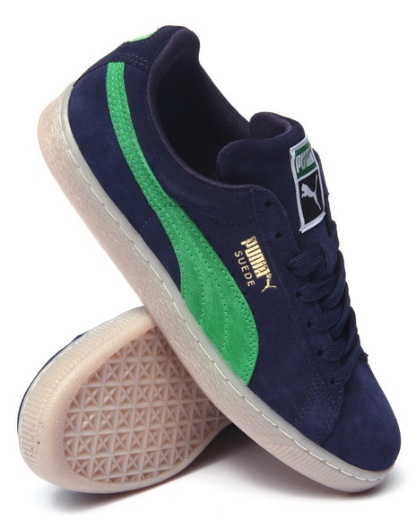 Puma - Men Navy Suede Classic Coastal