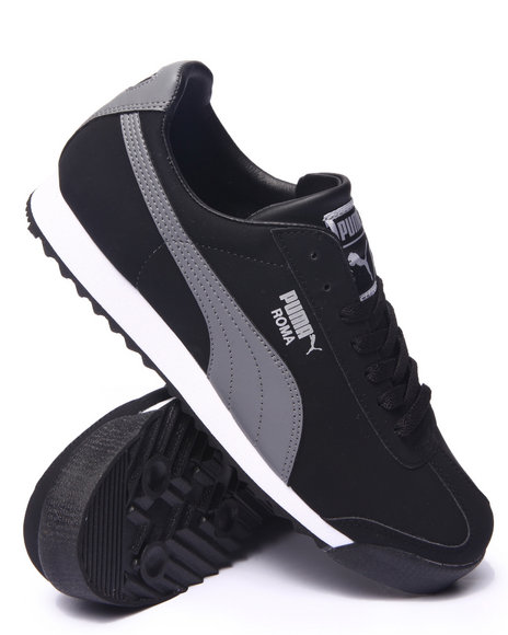 Puma - Men Black Roma Blocks Lo