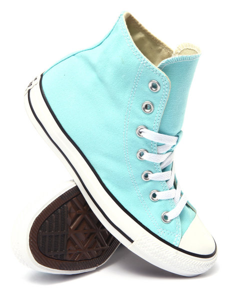 Converse - Men Teal Chuck Taylor All Star Hi Sneakers