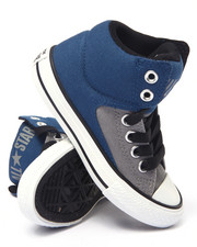 Footwear - Color Plus Chuck Taylor All Star High Street Hi Sneakers (11-3)
