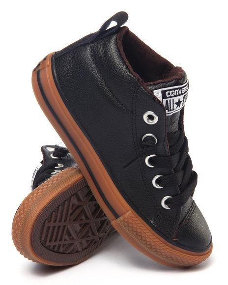 Converse - Boys Black Chuck Taylor All Star Street Sneaker (11-3)