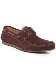 Holiday Shop - Men - Schooner Perf Calf Suede Laceless Boat Shoe