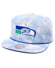 Hats - Seattle Seahawks Lite Acid Wash Denim Snapback hat