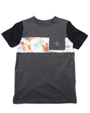 Boys - COCA CAMO POCKET TEE (8-20)