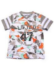 T-Shirts - COCA CAMO JERSEY (4-7)
