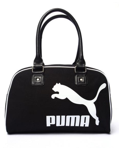 Puma Women Heritage Canvas Handbag Black - $40.00