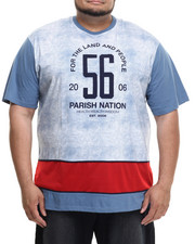 Men - Printed Colorblock T-Shirt (B&T)