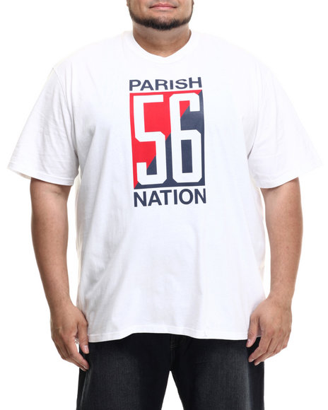 Parish - Men White Graphic T-Shirt (B&T) - $23.99