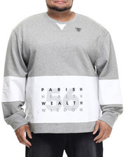 Pullover Sweatshirts - Colorblock Sweatshirt (B&T)