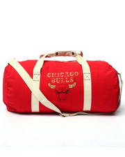 Mitchell & Ness - Chicago Bulls Team Logo Washed Canvas Duffle Bag