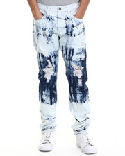 Jeans & Pants - Tsunami Acid - Wash Denim Jeans