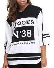 Crooks & Castles - Smoke Hockey Jersey