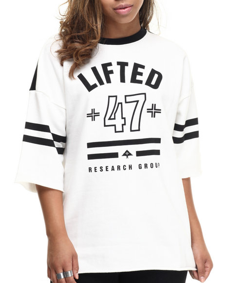 Lrg - Women White Cult 47 Jersey